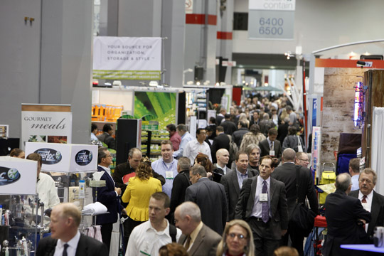 Opening day, international housewares show